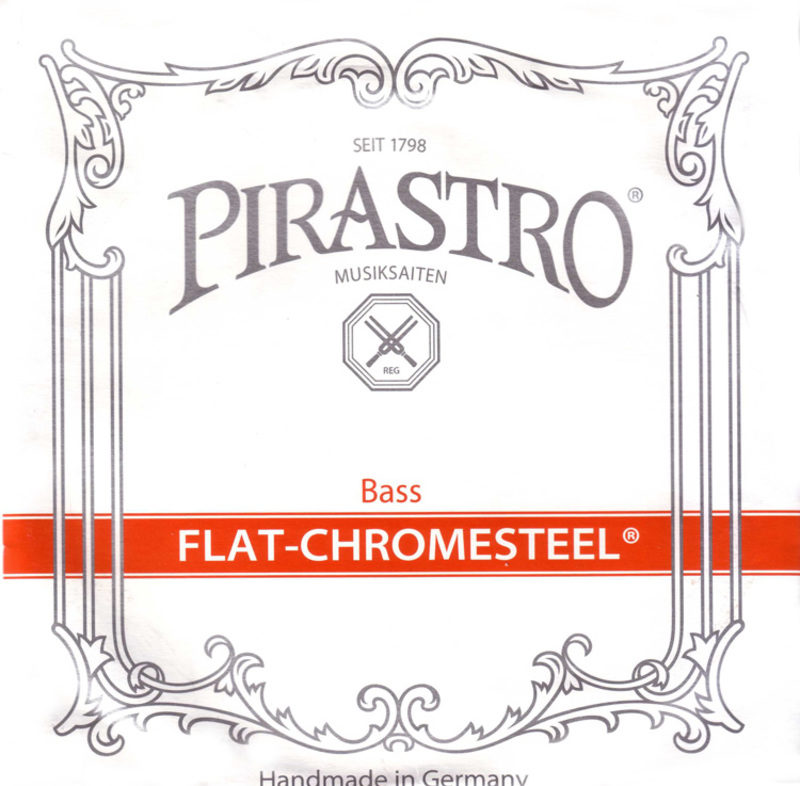Flat-Chromesteel Double Bass E