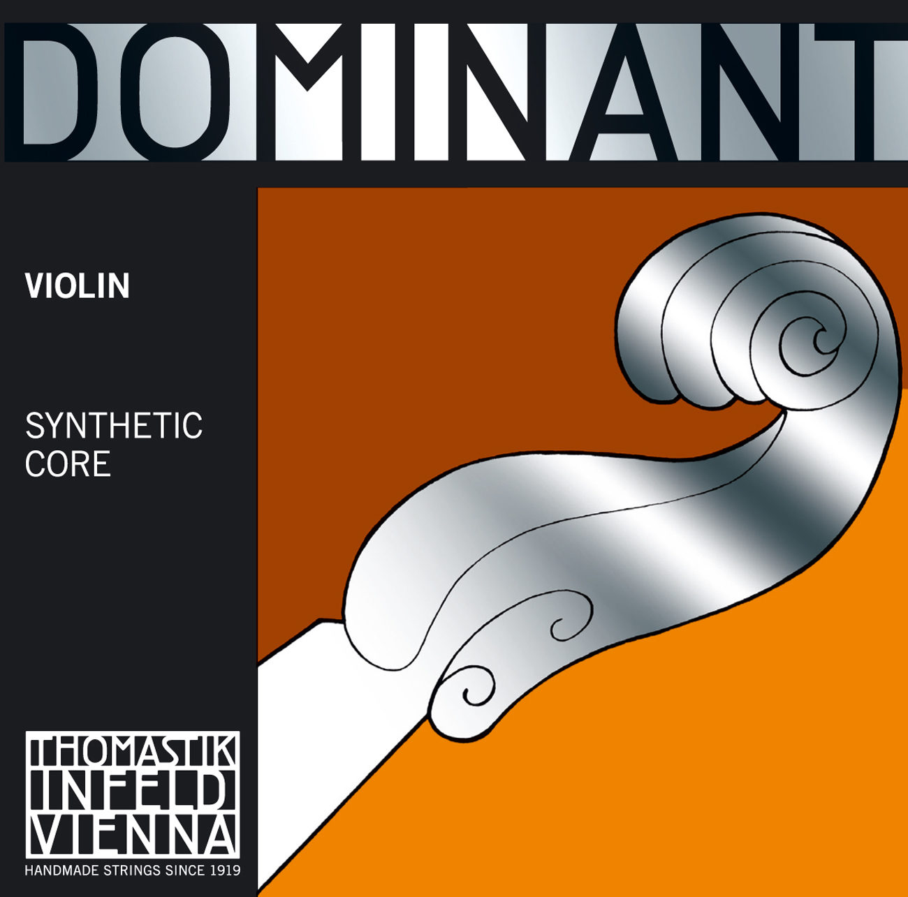 Dominant Violin Set 135 (With Aluminium Wound Ball E)