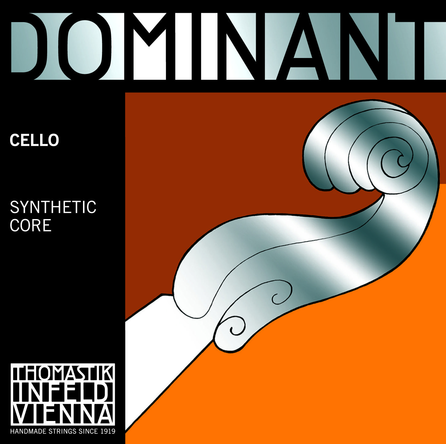 Dominant Cello C Silver