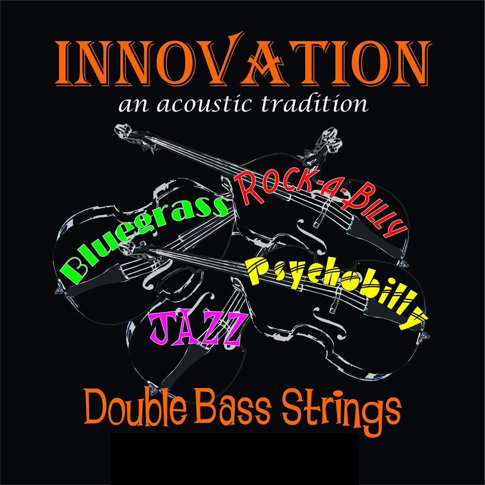 Innovation Silver Slap Double Bass Set